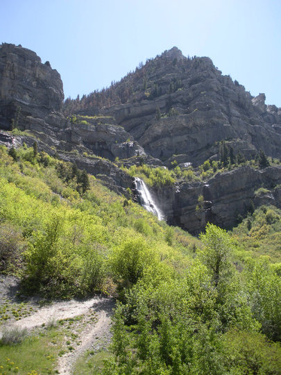 Hiking Bridal Veil Falls Provo Utah