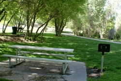 Big Springs Park Picnic Tables UT