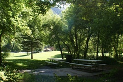 South Fork Park Picnic Tables Provo UT